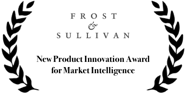 Recognised by Frost and Sullivan