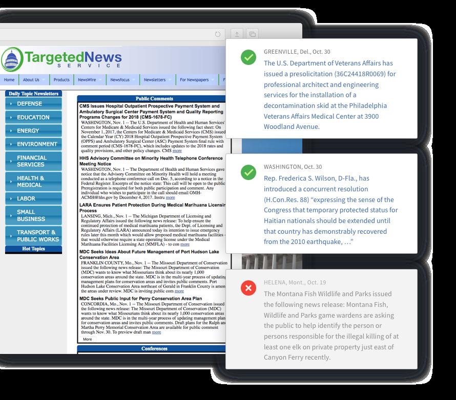 Contextual sourcing — Contify News Data Feeds