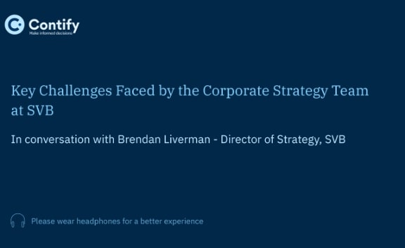 Series 1: Key Challenges Faced by the Corporate Strategy Team at SVB