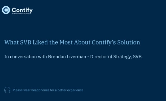 Series 4: What SVB Liked the Most About Contify's Solution