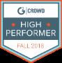 G2Crowd Market Intelligence High Performer Award
