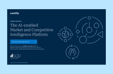 The AI-enabled Market and Competitive Intelligence Platform